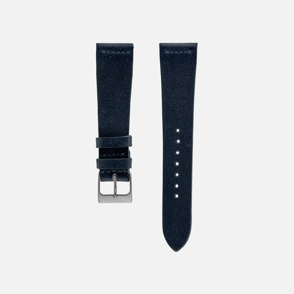 Navy Blue Calfskin Watch Strap