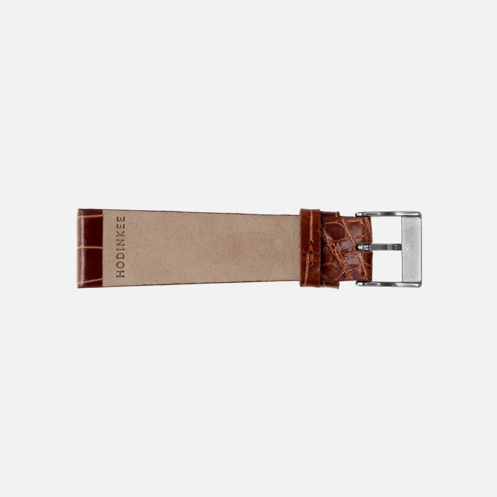 Brown Crocodile Watch Strap
