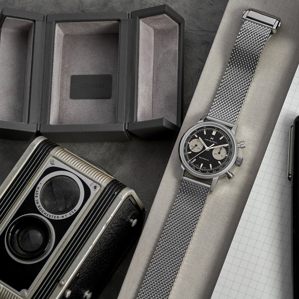 The Concorde Single Watch Box In Grey