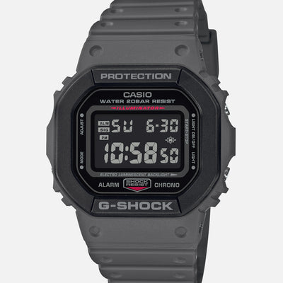 G-SHOCK DW5610SU-8 'Street Utility Military' Two Tone In Black And Grey