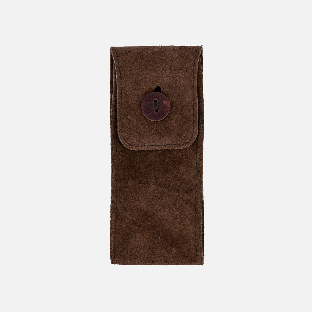 English Suede Watch Pouch
