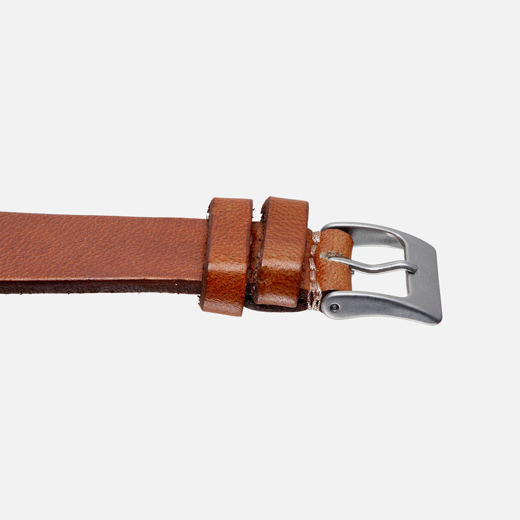 Faded Brown Calfskin Watch Strap