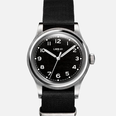 MERCI LMM-01 Field Watch In Black