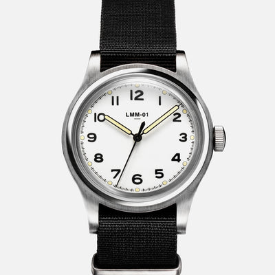 MERCI LMM-01 Field Watch In White