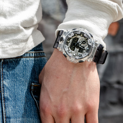 G-SHOCK GA700SK-1A Skeleton alternate image.