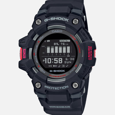 G-SHOCK Move GBD100-1 With Red Accents And Black Strap