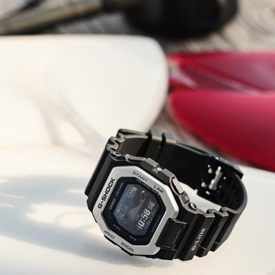 G-SHOCK G-LIDE GBX100-1 With Black Strap alternate image.