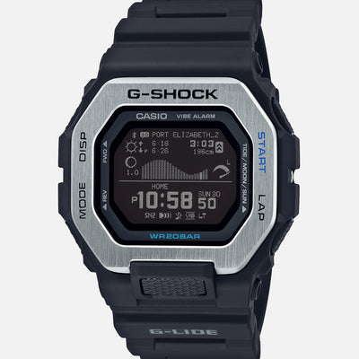 G-SHOCK G-LIDE GBX100-1 With Black Strap