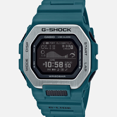 G-SHOCK G-LIDE GBX100-2 With Teal Strap