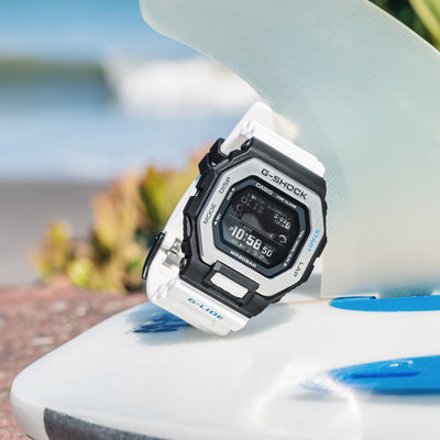 G-SHOCK G-LIDE GBX100-7 With White Strap alternate image.