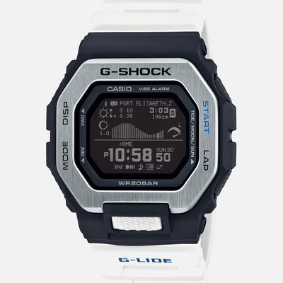 G-SHOCK G-LIDE GBX100-7 With White Strap