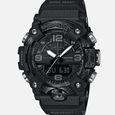 G-SHOCK GGB100-1B Master Of G Mudmaster 'Black Out' With Carbon Bezel