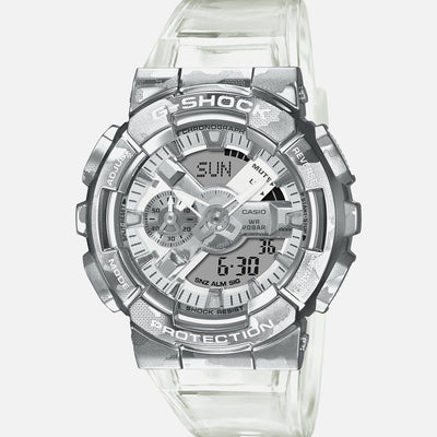 G-SHOCK GM110SCM-1A Skeleton Camouflage With Stainless Steel Bezel