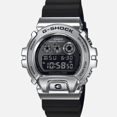 G-SHOCK GM6900-1 '25th Anniversary' In Silver With Stainless Steel Bezel