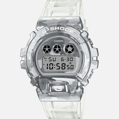 G-SHOCK GM6900SCM-1 Skeleton Camouflage With Stainless Steel Bezel