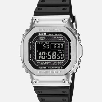 G-SHOCK GMWB5000-1 'Full Metal' In Stainless Steel With Resin Strap