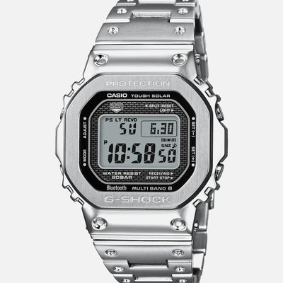 G-SHOCK GMWB5000D-1 'Full Metal' In Stainless Steel With Bracelet