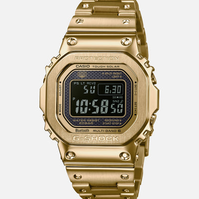 G-SHOCK GMWB5000GD-9 'Full Metal' Gold IP-Coated Stainless Steel With Bracelet