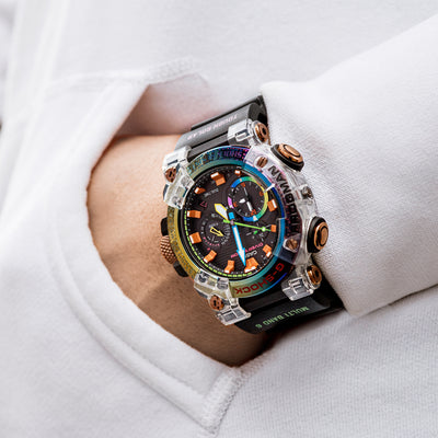 G-SHOCK GWFA1000BRT-1 Master Of G Frogman Borneo Rainbow Toad Limited Edition alternate image.