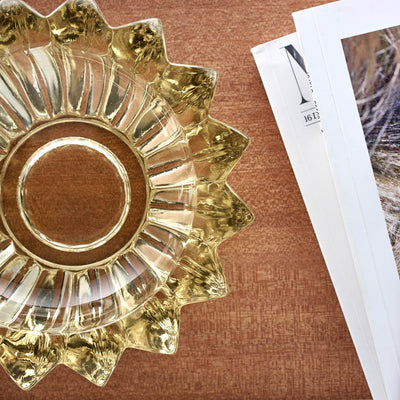 1960s Citrine-Colored Glass Bowl alternate image.