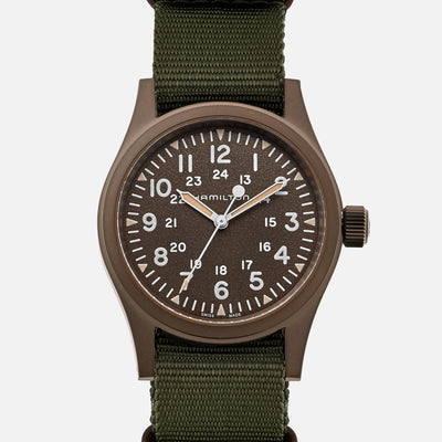Hamilton Khaki Field Mechanical 38mm 'Earth' PVD