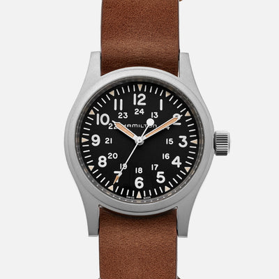 Hamilton Khaki Field Mechanical 38mm Black Dial