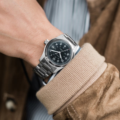 Hamilton Khaki Field Automatic 38mm Black Dial On Bracelet alternate image.