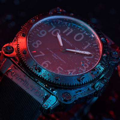 Hamilton Khaki Navy BeLOWZERO 'TENET' Limited Edition With Blue Accents alternate image.