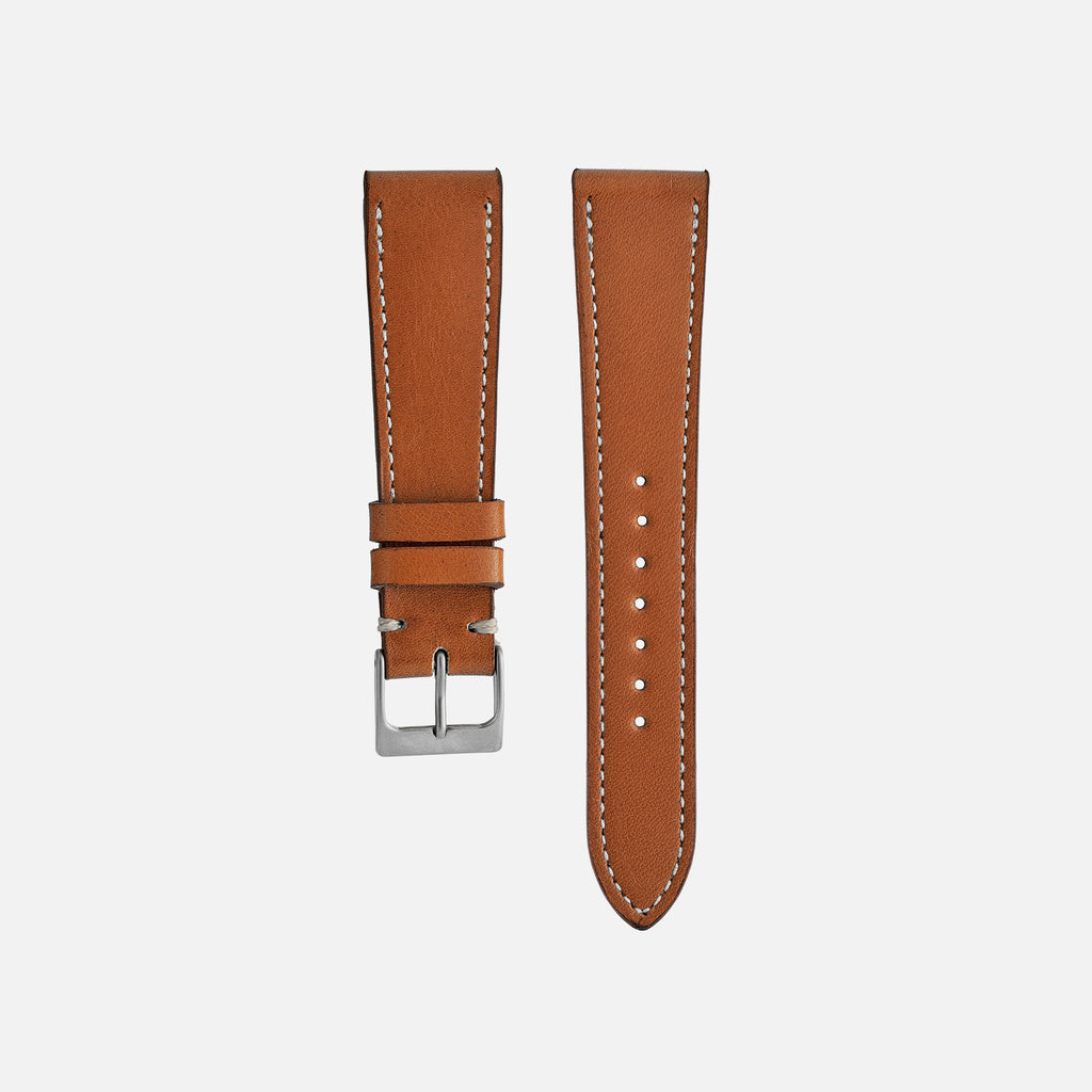 Honey Gold Calfskin Watch Strap