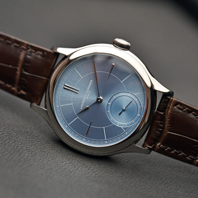 Laurent Ferrier Galet Classic Micro-Rotor With Sunburst Ice Blue Dial alternate image.