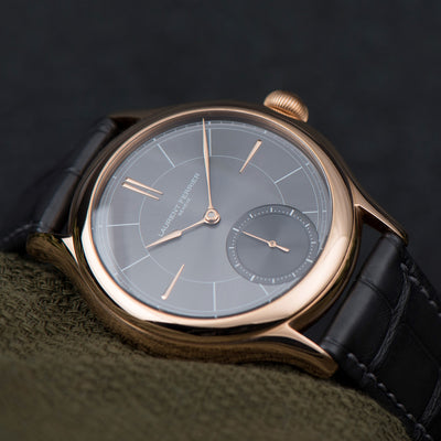 Laurent Ferrier Galet Classic Micro-Rotor With Sunburst Slate Grey Dial alternate image.