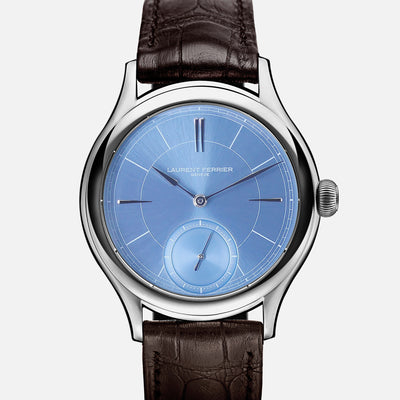 Laurent Ferrier Galet Classic Micro-Rotor With Sunburst Ice Blue Dial