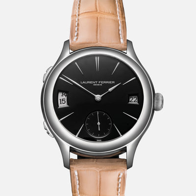 Laurent Ferrier Galet Classic Traveller With Black Opaline Dial