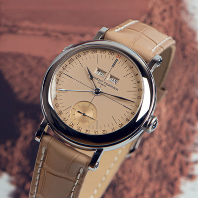 Laurent Ferrier Galet Annual Calendar Montre École 'Vintage' Limited Edition alternate image.