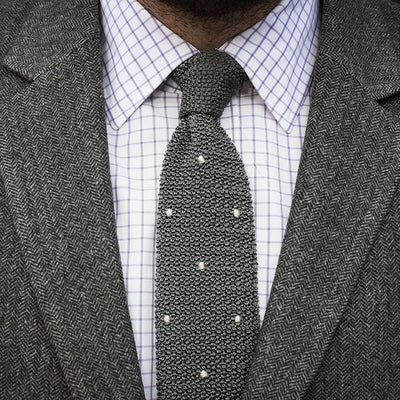 Drake's For HODINKEE Tie - Grey alternate image.