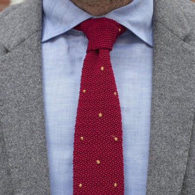 Drake's For HODINKEE Tie - Red alternate image.