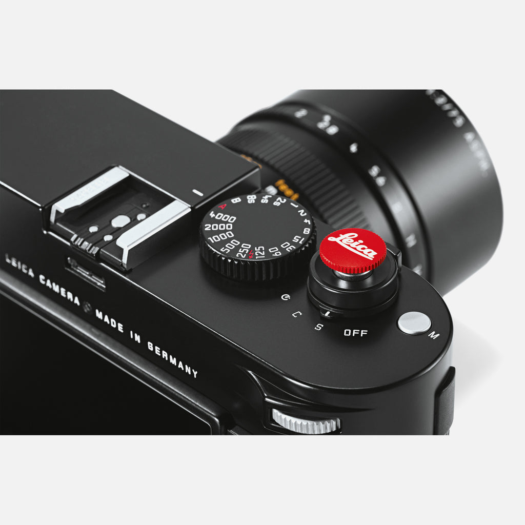 Leica M-System Soft Release Button In Red