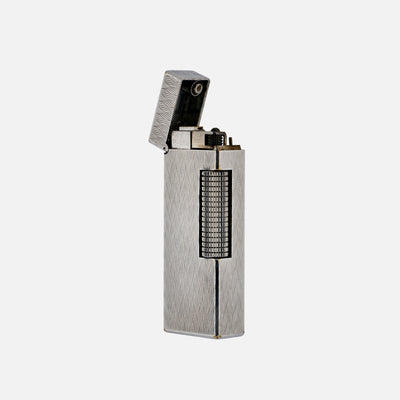 1970s Dunhill Silver-Plated 'Rollagas' Lighter