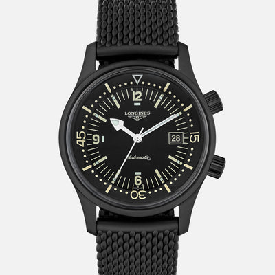 Longines Legend Diver In Black PVD
