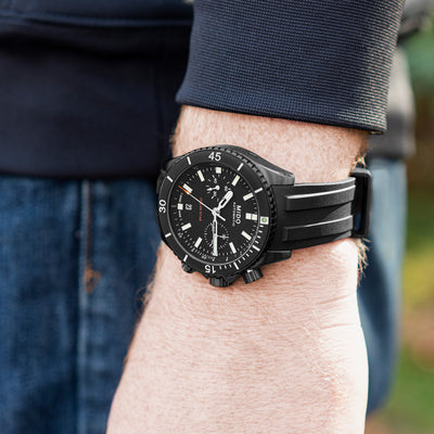 Mido Ocean Star Chronograph Black DLC alternate image.