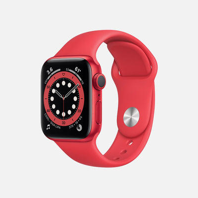 Apple Watch Series 6 GPS + Cellular PRODUCT(RED) Aluminum Case 40mm With PRODUCT(RED) Sport Band alternate image.