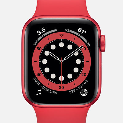 Apple Watch Series 6 GPS + Cellular PRODUCT(RED) Aluminum Case 40mm With PRODUCT(RED) Sport Band