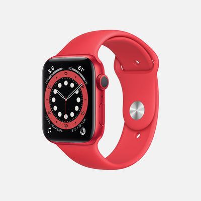 Apple Watch Series 6 GPS + Cellular PRODUCT(RED) Aluminum Case 44mm With PRODUCT(RED) Sport Band alternate image.
