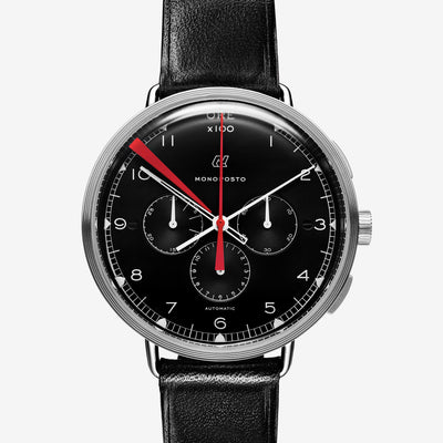 Autodromo Monoposto Chronograph With Black Dial