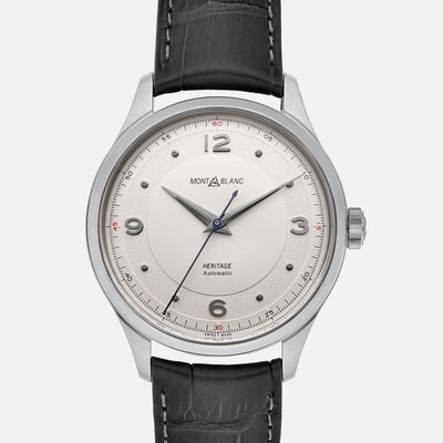 Montblanc Heritage Automatic With White Dial
