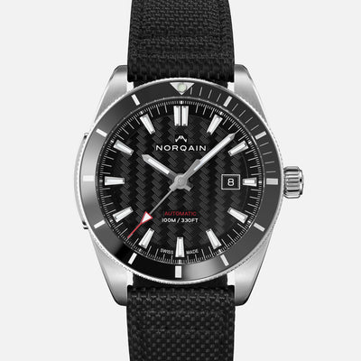 NORQAIN Adventure Sport Automatic Black Dial On Nordura Fabric Strap