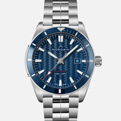 NORQAIN Adventure Sport Automatic Blue Dial On Bracelet