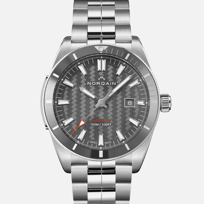 NORQAIN Adventure Sport Automatic Grey Dial On Bracelet
