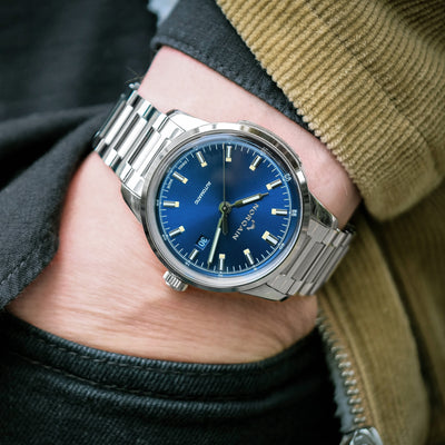 NORQAIN Freedom 60 Automatic Blue Dial On Bracelet alternate image.