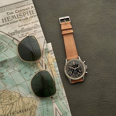 The Bedford Watch Strap In Beige alternate image.